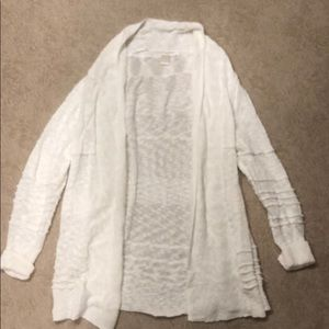 Roxy cream cardigan Size L